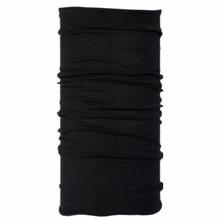 100% супертонкая мериносовая шерсть для мужчин и женщин, шарф кольцо, зимний шарф для катания на лыжах, охоты, горного велосипеда, уличный Спортивный Теплый черный шарф