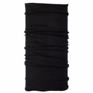 Image 1 - Écharpe de guêtre en laine mérinos noire
