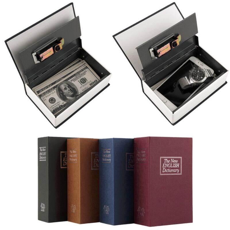 Popular Safe Box Dictionary Secret Book Money Hidden Secret Security Safe Lock Cash Money Coin Storage Jewellery Password Locker the football game comes to coin money toy box pastic coin cases hidden safe kids piggy bank money toy game bank safe magic jbzq