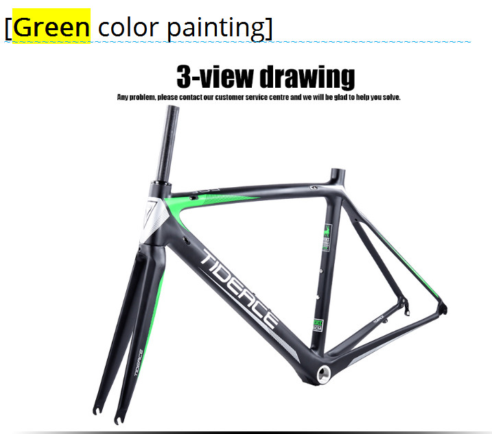 HTB1AR97oHsTMeJjSsziq6AdwXXa1 - 2017-2018 Tideace aero Cadre Route Frameset Made in China Carbon Fiber Road Bike Frame Bicycle Frame 50/53/55cm