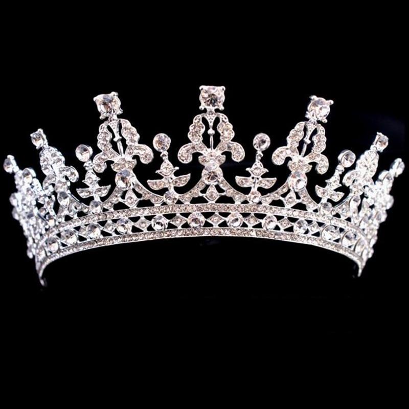 تيجان ملكية  امبراطورية فاخرة Luxury-Wedding-Bridal-Crystal-font-b-Tiara-b-font-Crowns-Princess-Queen-Pageant-Prom-Rhinestone-Veil