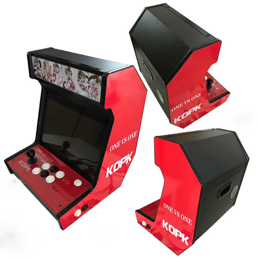 14 inch mini arcade table game machine fighting machine frame machine home arcade mini game machine in Coin Operated Games from Sports Entertainment