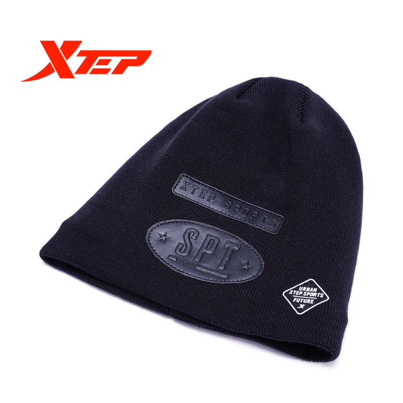 XTEP Harajuku women men Knit Beanies Hip Hop Street Cap Warm Skullies Bonnet sport running hat caps free shipping 883437229041