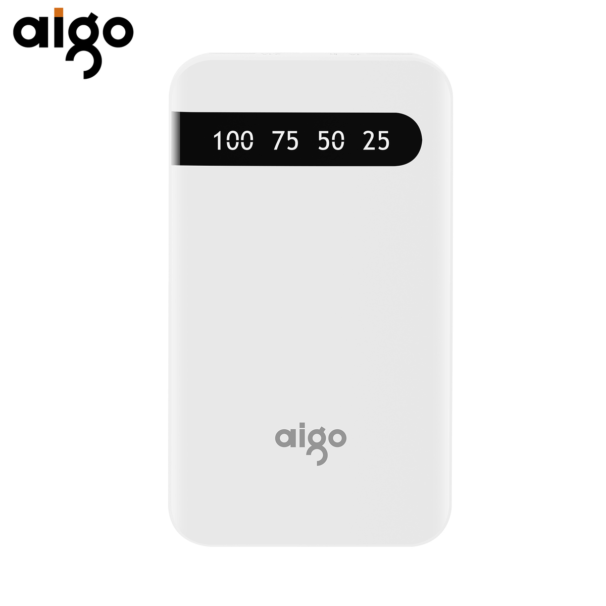 Aigo D20000 Pover Bank 20000mAh Large Capacity Power Bank Dual USB Input Port Charger External Battery Pack For Mobile Phone