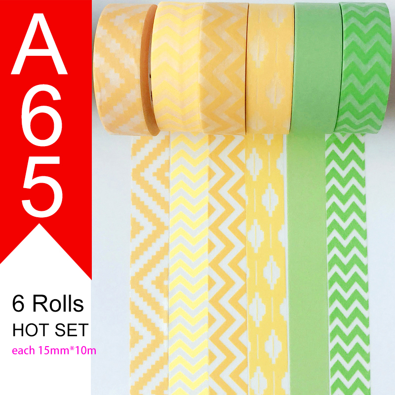 Free Shipping And Coupon Washi Tape,Washi Tape,watercolor,Optional Collocation,on Sale,16 Style Sets HOT Selling Set A62-A77