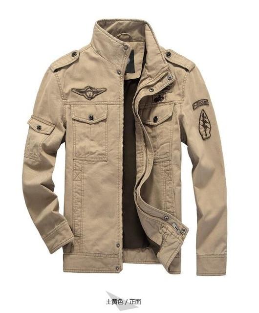 9590393f9b7 BEst Jacket Brand Jacking man winter jackets Men coats Army Military High  quality Stand collar Jacket M-6XL