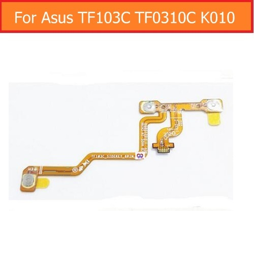 100% Genuine Switch Power Flex Cable For Asus TF103C TF103 K018 K010 Transformer Pad Volume Button Flex Cable Sidekey_6pin_FPC