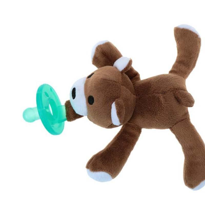 Cute Baby Plush Toy Pacifier Newborn Baby Kids Boys Girls ...