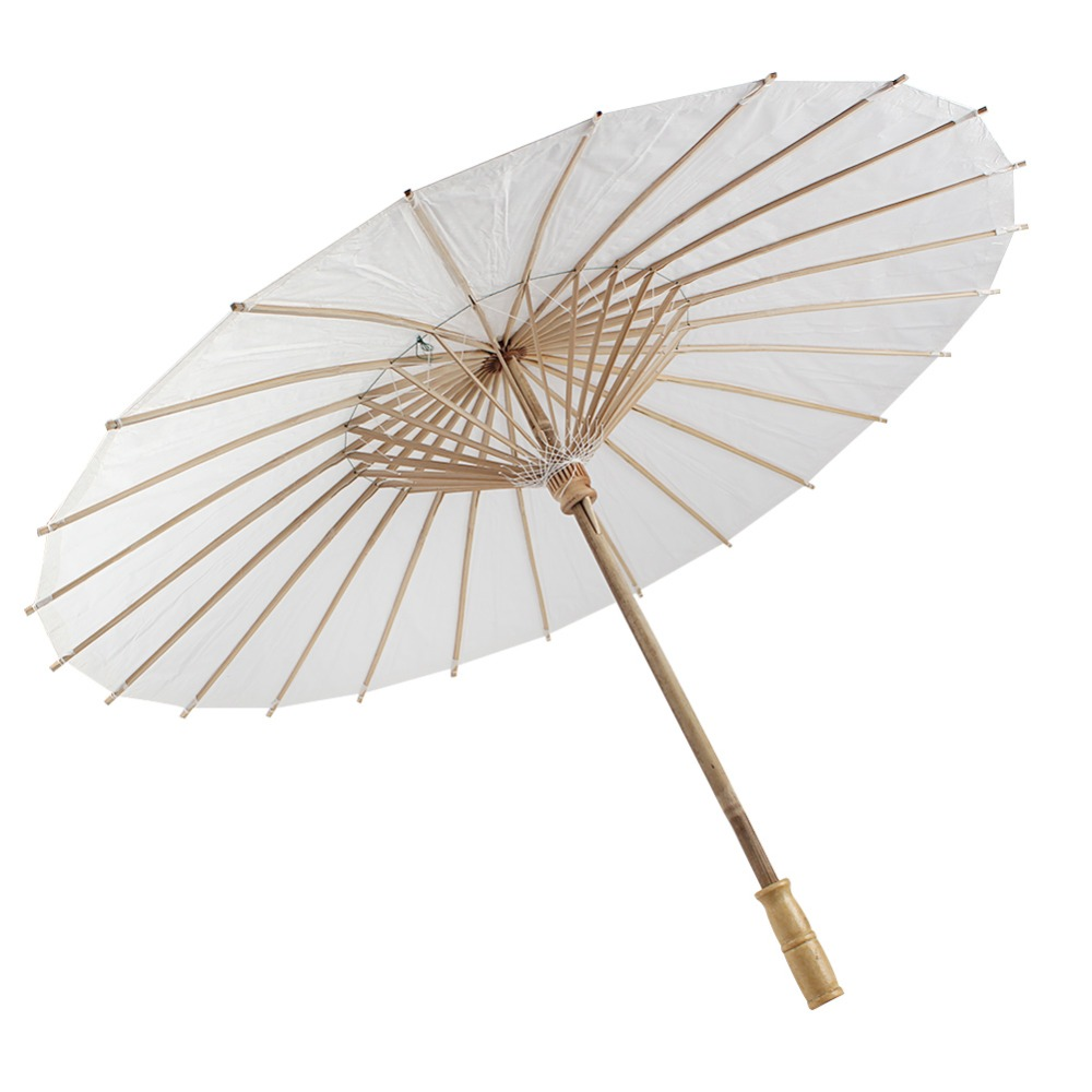Online buy wholesale white paper parasols from china white for Decor umbrellas