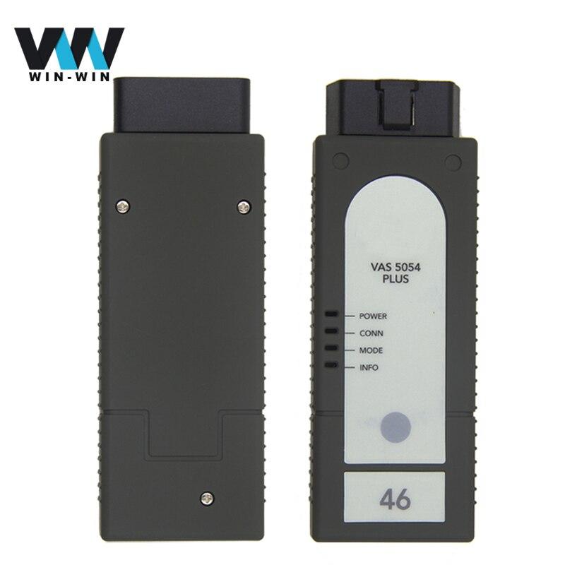 Prix pour VAS 5054A PLUS avec OKI ODIS V4.13 Bluetooth OBD OBD2 Diagnostic interface vas 5054 4.0.0 Plus pour Seat/Skoda/VW