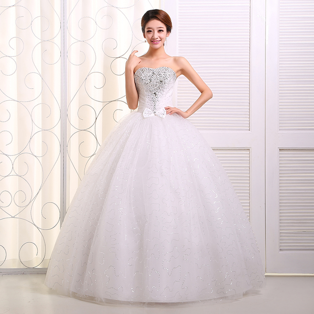 supper wedding dress