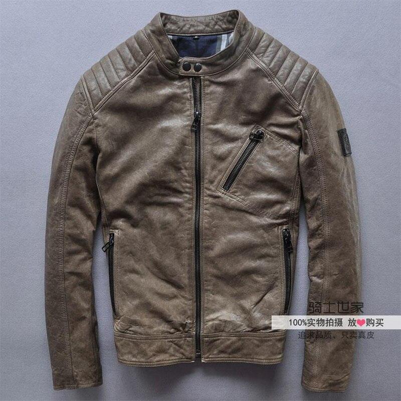 Popular Leather Jacket Sheepskin-Buy Cheap Leather Jacket ...