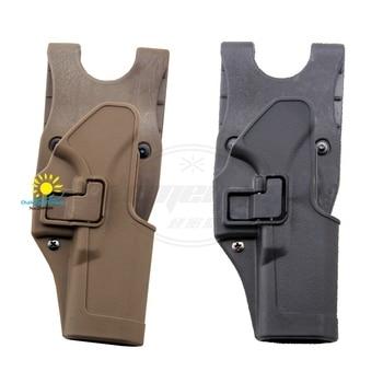 Black Tan Left / Right Hand Tactical GLOCK Tactical Gun Pistol Holster fits GLOCK 17 19 22 23 31 32 RH GLOCK holster