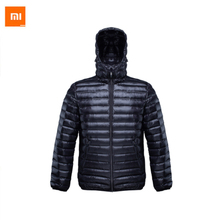 Xiaomi 90 Feather Dress Coat Xiaomi One Weaving Thin DownJacket White Duck Warm For Smart Home New