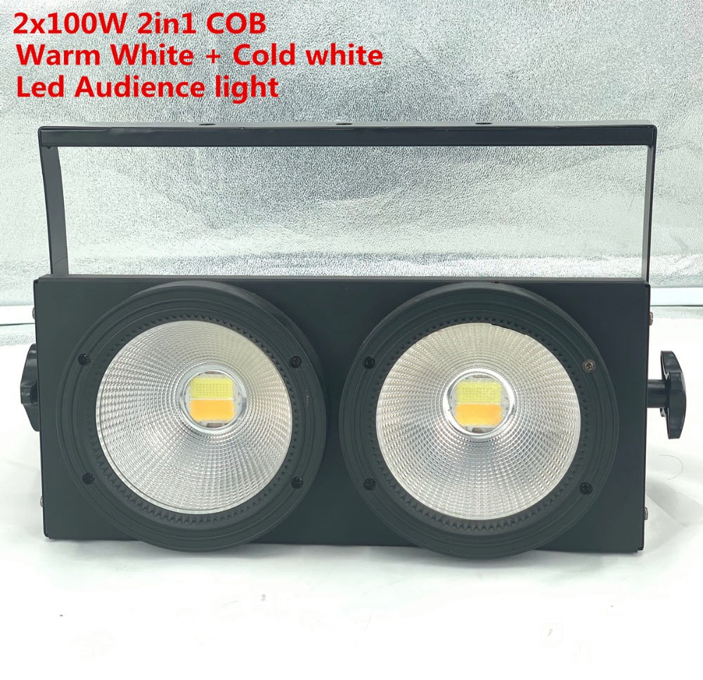 200W LED par cob  Stage lighting 2x100w RGBW UV warm white cool white warm and cool white 2in1 Led Audience  light200W LED par cob  Stage lighting 2x100w RGBW UV warm white cool white warm and cool white 2in1 Led Audience  light