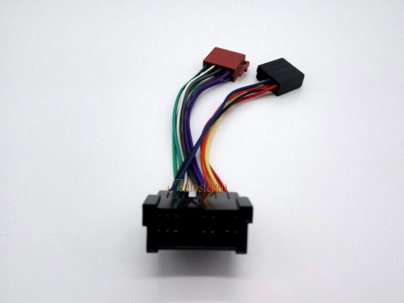 12 013 Autostereo Wiring Cable ISO Radio Adapter For