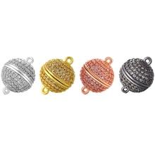 ZHUKOU женское ожерелье браслет серьги соединители фурнитура для украшений ручной работы латунь кубический цирконий аксессуары для ювелирных изделий