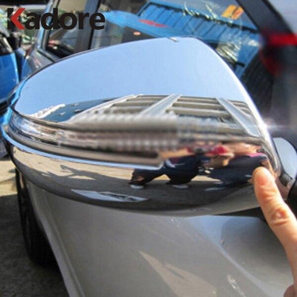 Kia Sportage Chrome Mirror Cover 2010-2015 2 Pieces S.Steel