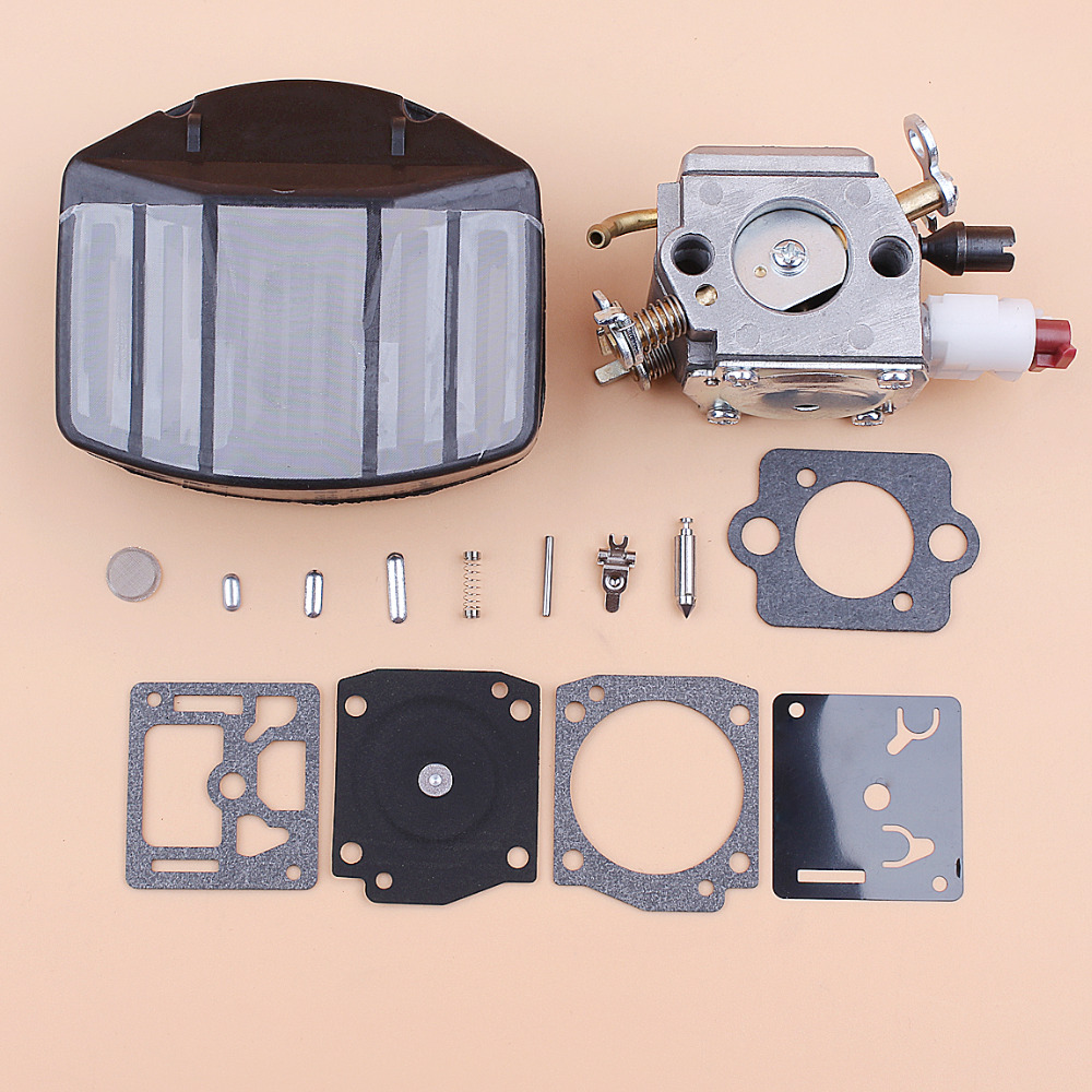 357 Carb Kit Parts Zama 359 Repair Chainsaw C3 Husqvarna Jonsered EL18B For Filter 2159 163 Chainsaws 357XP Carburetor RB Air