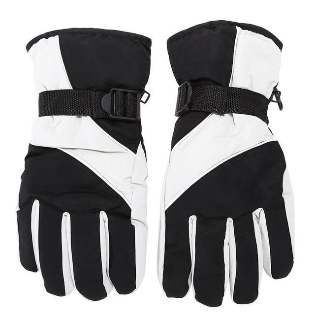 Мужские лыжные перчатки термальные водостойкие для зимних видов спорта на открытом воздухе сноуборд