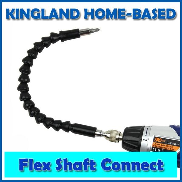 Trapano elettrico da 295 mm Estensione flessibile per punte elicoidali Cacciavite elettrico Supporto per punte Albero flessibile Collegamento Link Accessori per elettroutensili
