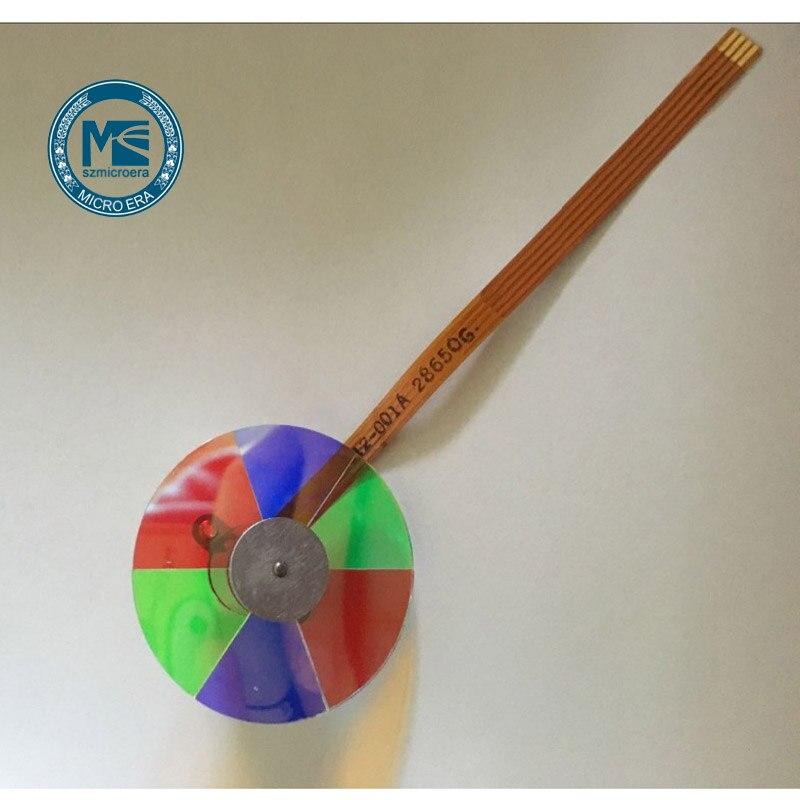 new projector color wheel for Mitsubishi HC910 HC1100 HC3100 HC77 10 HC3800 HD1000