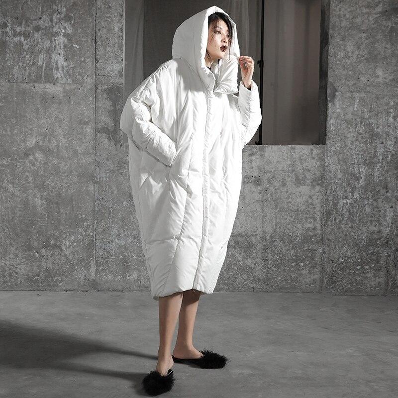 De Capuche Noir souris Long Conception X Chauve Femmes army Green D'hiver Manteau À 2017 Canard Veste Blanc blanc Originale Manches Oversize Duvet IIUqYw6