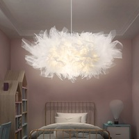 Modern LED Hanging Lamp Nordic Pendant Light Fixtures Bedroom Cafe Livin Romm Pending Lighting Creative Yarn Luminaire Suspendu