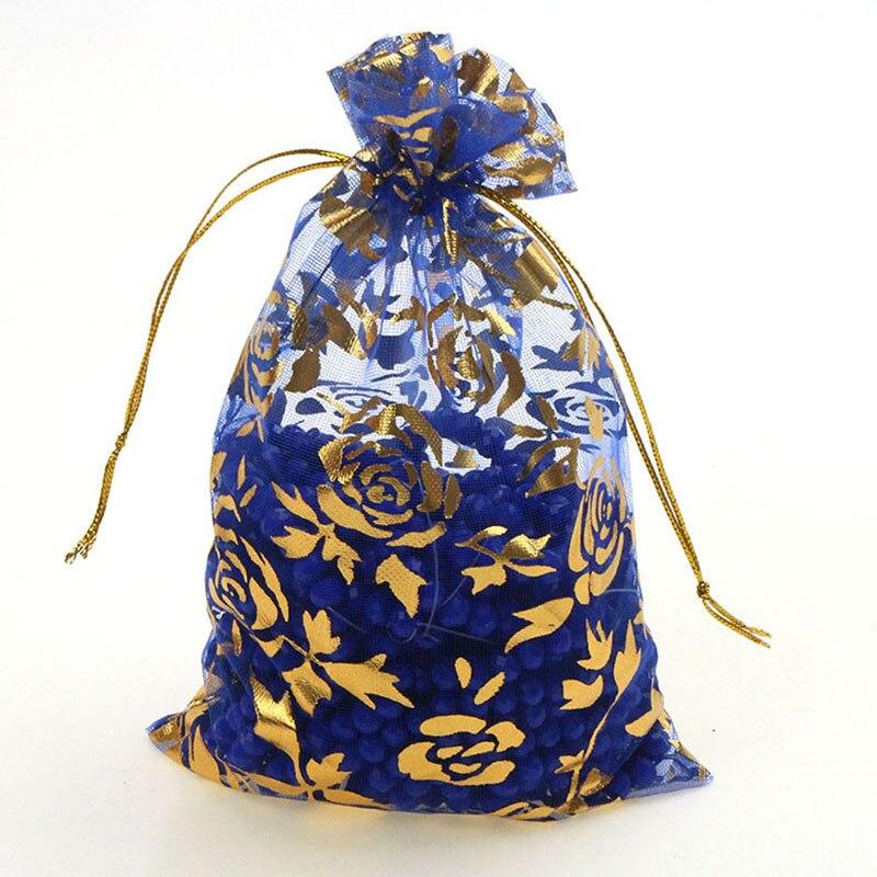 royal blue-gold rose