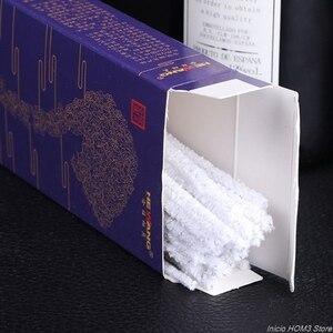 Image 3 - 50 개/대 흡연 파이프업자 혼합 면화 막대 담배 연기 마우스 피스 편리한 일회용 청소 도구 액세서리