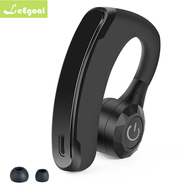 Handsfree Business Bluetooth Headset With Mic Voice: V11 Business Bluetooth Headset Wireless Handsfree Office