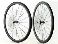 1490 г! 700C 38 мм Глубина колеса углерода 23 мм ширина дорожный велосипед clincher/трубчатые углеродного волокна супер легкий Аэро колесная UD матовая
