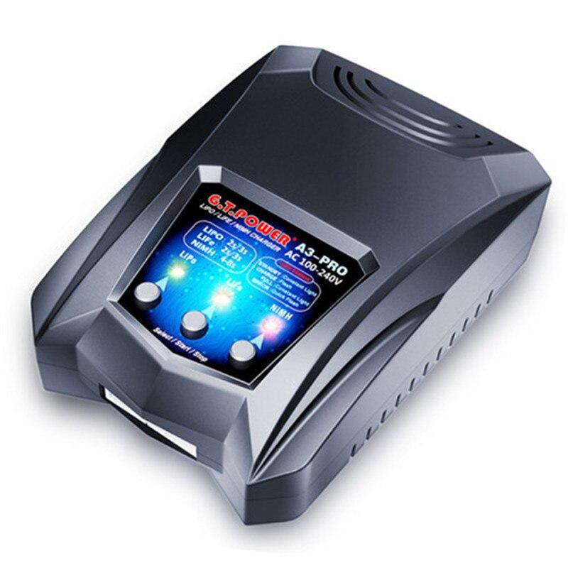 >New GTP A3 PRO Battery Charger AC 110-240V 50/60Hz 16W 2A Power Supply No Adapter RC Car Drone 2-3S Li-Po Li-Fe <font><b>4</b></font>-8S NiMH NiCd