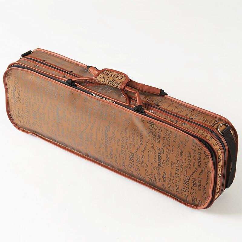 4/4 стальная скрипка коробка для инструментов струны аксессуары части скрипки o caso bolha de boa qualidade