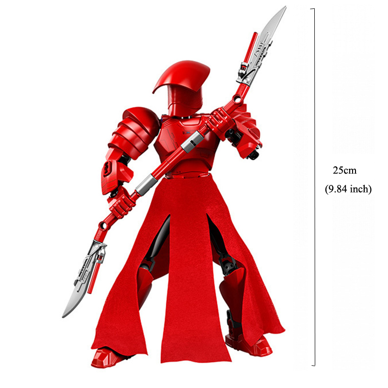 Blocks Star Wars Buildable Action Figure Toys for Kids 14