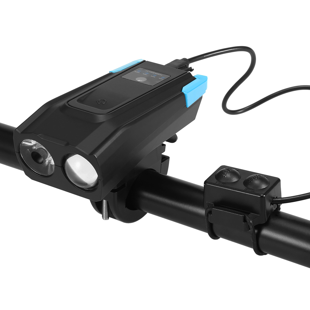 Bike-Headlight Front-Light Battery Led-Lamp Smart-Induction Usb-Rechargeable 2000mah/4000mah