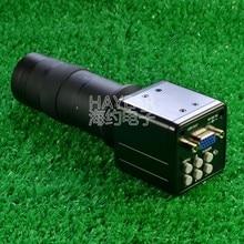 Cheap price HD 2MP VGA CMOS Color Camera 100X Lens Crosshair Digital Microscope