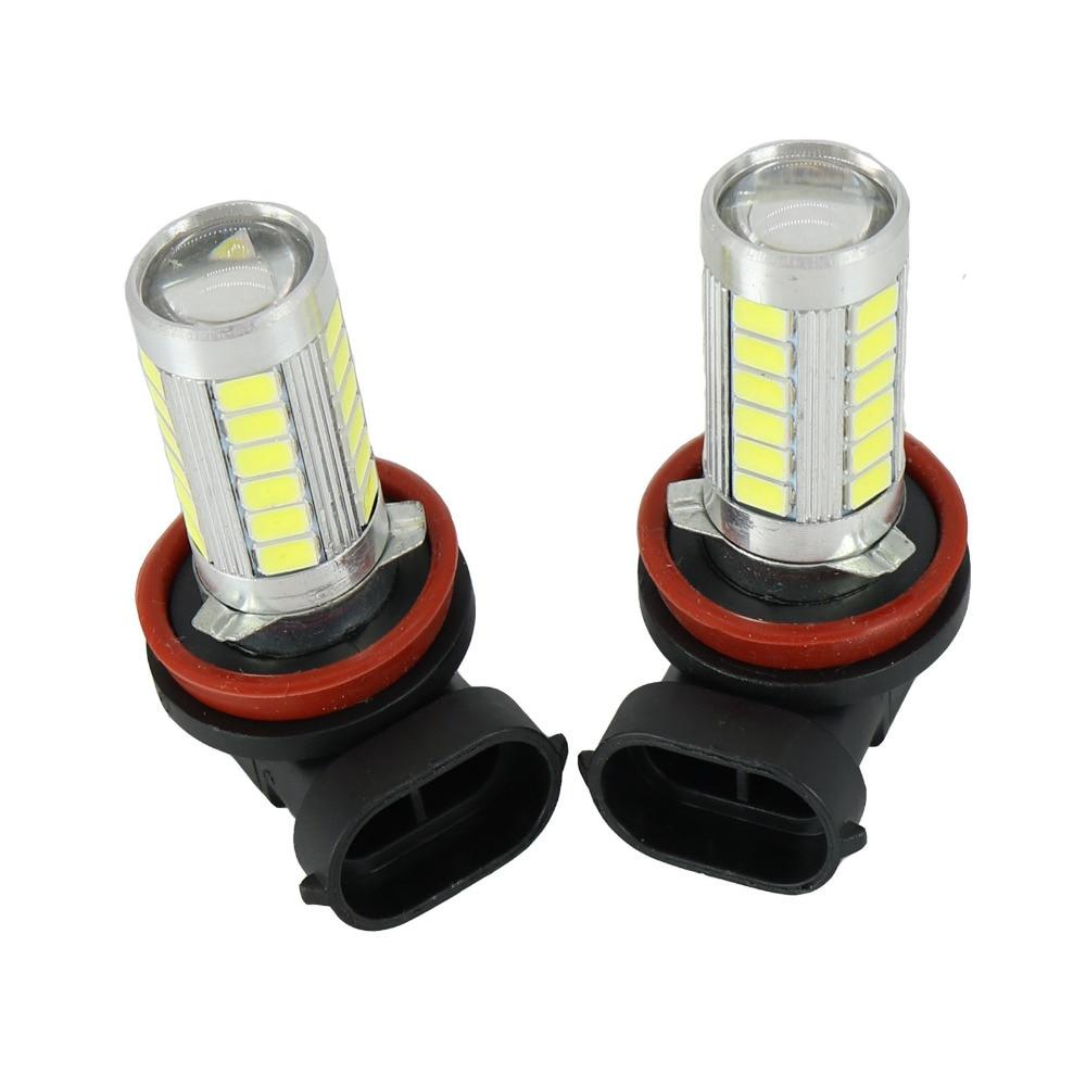 2Pcs New For VW Amarok 2010 2011 2012 2013 2014 2015 2016 Car-Styling LED Fog Lamp Fog light Bulbs