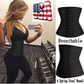 Black Waist Tummy Girdle Glass Waist Trainer Body Shaper For Ladies Underbust Control Corset Slimming Black Belt
