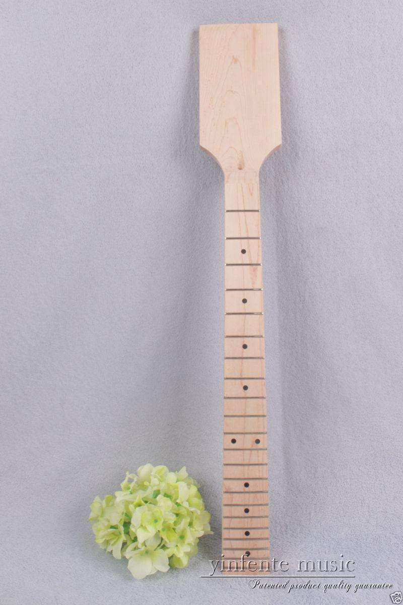 1pcs Electric guitar neck 22 fret Maple wood Fretboard Truss Rod Unfinished #875 new electric guitar neck maple 24 fret 25 5 truss rod unfinished no frets nice