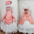 Ciel Phantomhive Cosplay Costume Anime Manga Kuroshitsuji Fancy Lolita Dress Women Black Butler Ciel Phantomhive Maid Costume