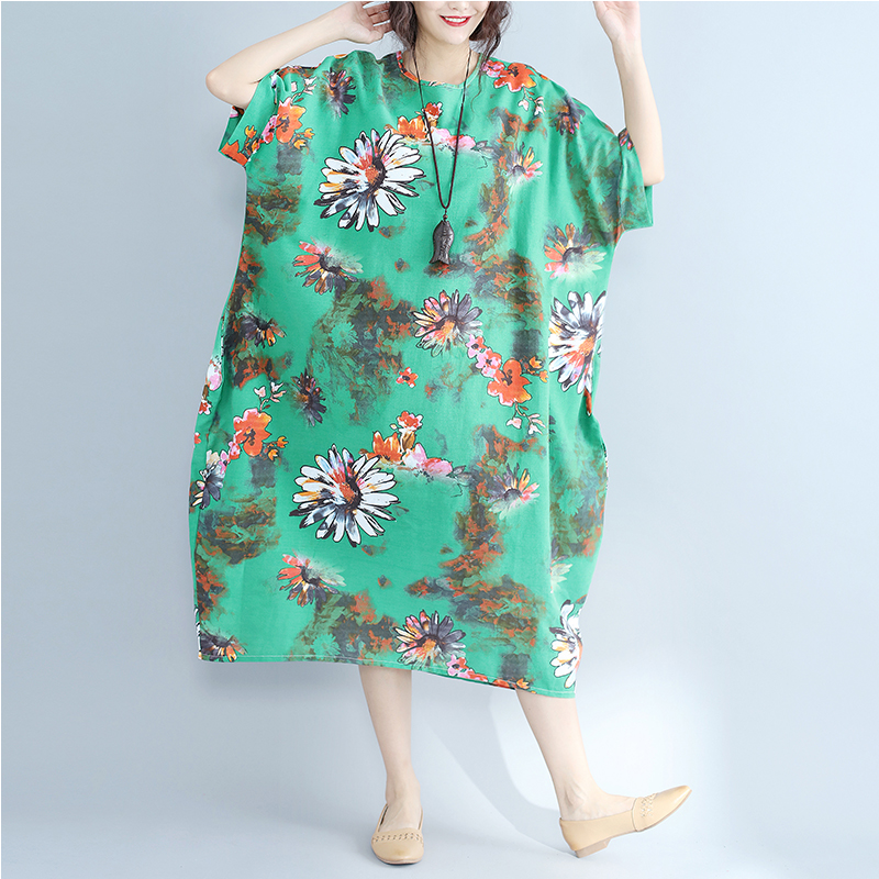8cc8fcf10f2 Wholesale Fashion Town is the only stop to meet all your fashion ... LONG  SLEEVE FLORAL PRINT SWING DRESS ... Dresses