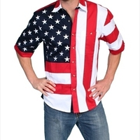 Скалли RW029SS RED L мужские Rangewear независимости футболка с коротким рукавом большой