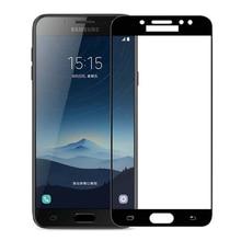 3D Gehard Glas Voor Samsung Galaxy j7 plus Volledige Cover 9 H film explosieveilige Screen Protector Voor Samsung Galaxy j7 plus