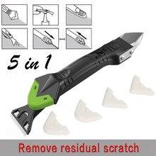 5в1 силиконовый герметик для удаления шприца, герметик, гладкий скребок, набор инструментов, пластиковые ручные инструменты, набор аксессуаров, креативный^ 15