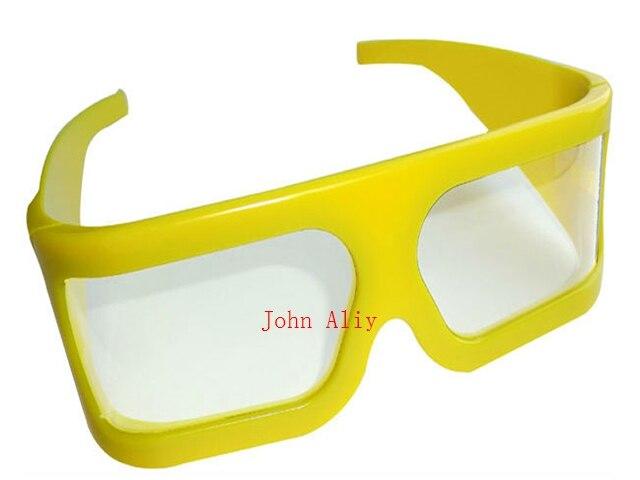 enorme sconto nuovo design consegna gratuita Vendita calda Cornice gialla IMAX occhiali 3d polarizzati lineari ...