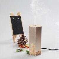 Portable Car Difusor De Aroma Air Humidifier Ultrasonic USB Essential Oil Diffuser Aromatherapy Mist Maker Fogger