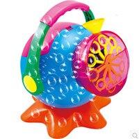 Soap Bubble Machine Bubble Blower Outdoor Toys for Kids, ABS Plastic Creative Bubble Maker Toy Automatic Bubble Gun Baby Toy