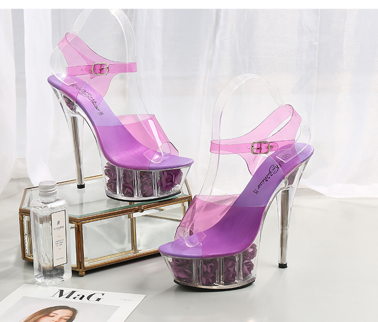Fairly 5 Colors Shoes High Heel Open Toe Zipper Spike Heels Summer Shoes Concise,Pink,5