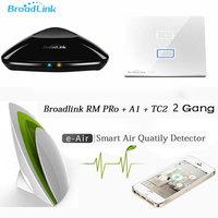 Broadlink Smart Home Automation System A1 E Air Smart Air Quality Detector RM2 Pro Remote Control
